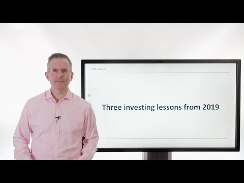 Three investing lessons