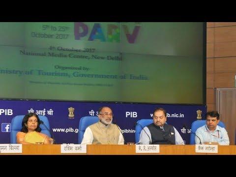 Union Minister Shri Alphons Kannanthanam briefs on Paryatan Parv