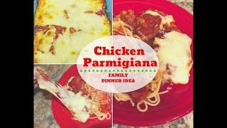 Chicken Parmigiana Recipe Tutorial- Great Family Dinner