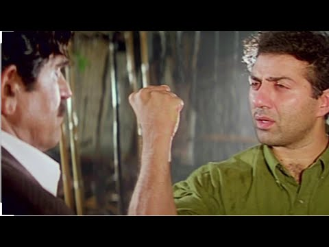 Damini movie best scene, sunny deol & Amresh Puri best dialogue
