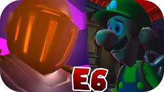 E 6 El Ataque De Las Armaduras Luigi S Mansion Dark Moon Guía Al 100 ᴴᴰ