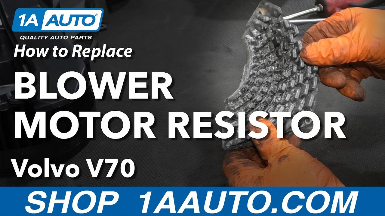 How to Replace Blower Motor Resistor 00-07 Volvo V70