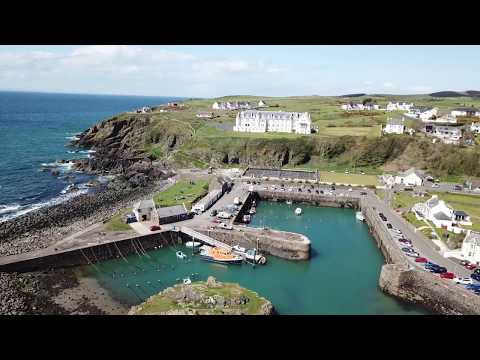 Portpatrick Harbour from the air. . . DJI Mavic Pro.