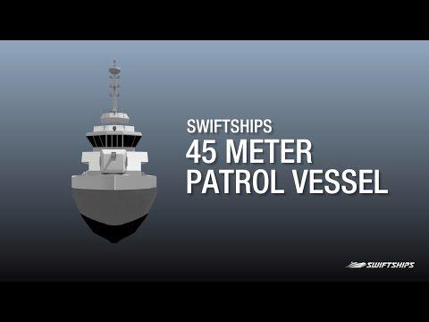 45 Meter Patrol Vessel