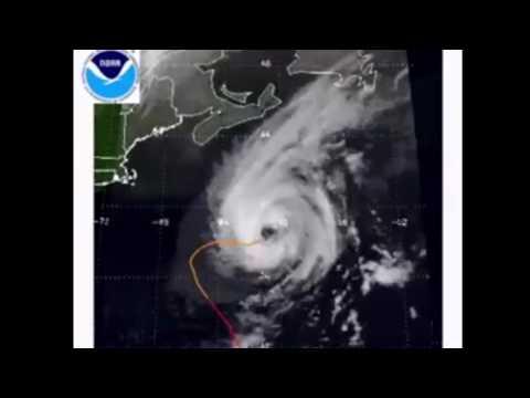 Hurricane Erin - Odd pattern in NOAA data (2001)