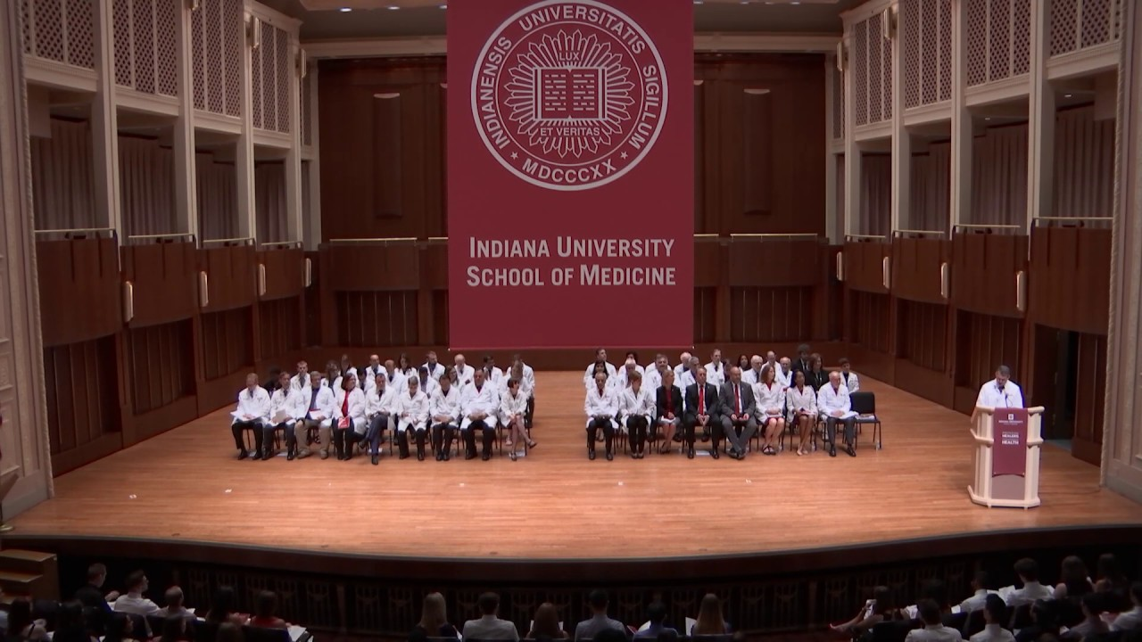 Matriculation | MD Program | IU School of Medicine