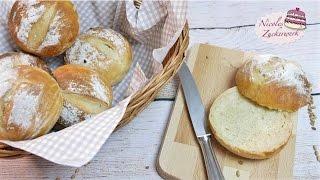 Buttermilchbrötchen | BRÖTCHEN SELBST BACKEN ♥ | von Nicoles Zuckerwerk