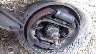 Потек тормозной цилиндр авто ЗАЗ