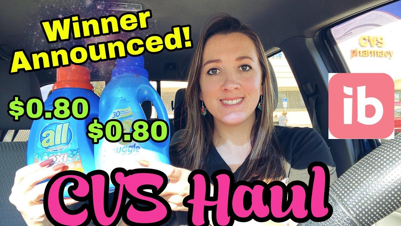 CVS Haul Winner Announced! 12/6-12/2020