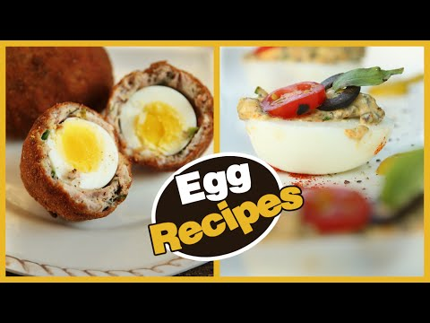 Easy & Quick Egg Recipes | Omelette, Egg In The Hole, Egg Roast | Get Curried