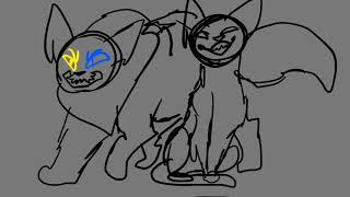 WIP - 1 EVIL TIME MACH Play Our Letter Game (Warriors Cats) Part 15-16