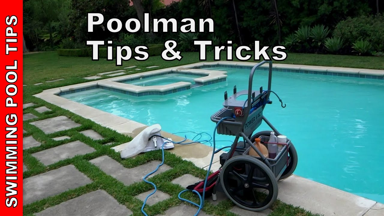 Poolman tips and tricks for pool service professionals for Pool service