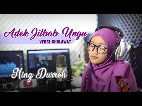 Adek Berjilbab Ungu Versi Sholawat Reggae Ning Durroh