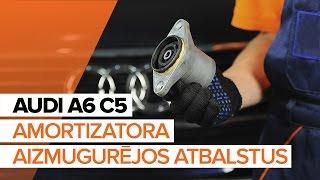 Audi Cabriolet 8g7 b4 apkope - video pamācības