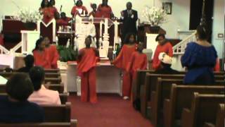 YOUTH DAY AT NEW BORN BATIST CHURCH - PRAISE DANCE PART 2 JUNE 2012