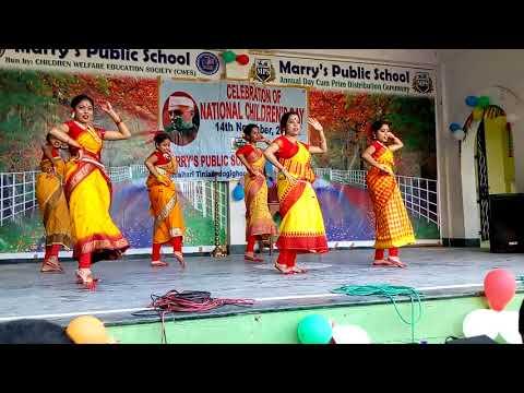 Sundori Kamala Folk Dance Marrys Public School Children's day