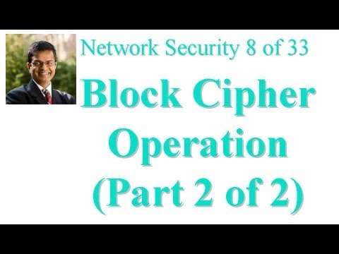 CSE571-11-06B: Block Cipher Operation (Part 2 of 2)