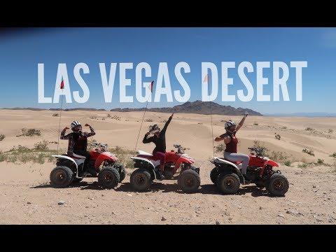 ATV'S IN THE LAS VEGAS DESERT  Bikini prep Vlog 27