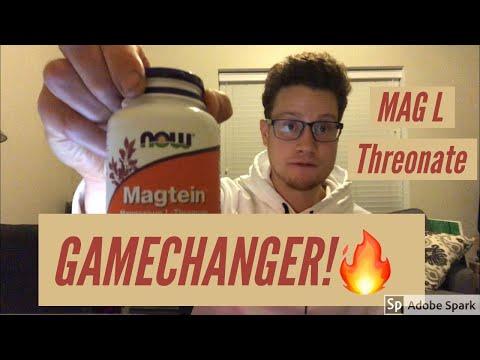 Magnesium L Threonate Review - Best Magnesium / Magtein Anxiety, Sleep, Depression, Brain Health!