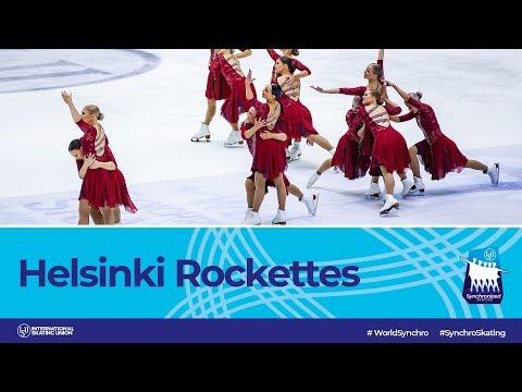 Team Helsinki Rockettes (FIN) | Helsinki 2019 | #WorldSynchro