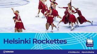 Team Helsinki Rockettes (FIN)   Helsinki 2019   #WorldSynchro