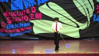 马来西亚国际扯铃竞赛   个人舞台表演赛 国际公开组男子(决赛)Hiroki Kamei