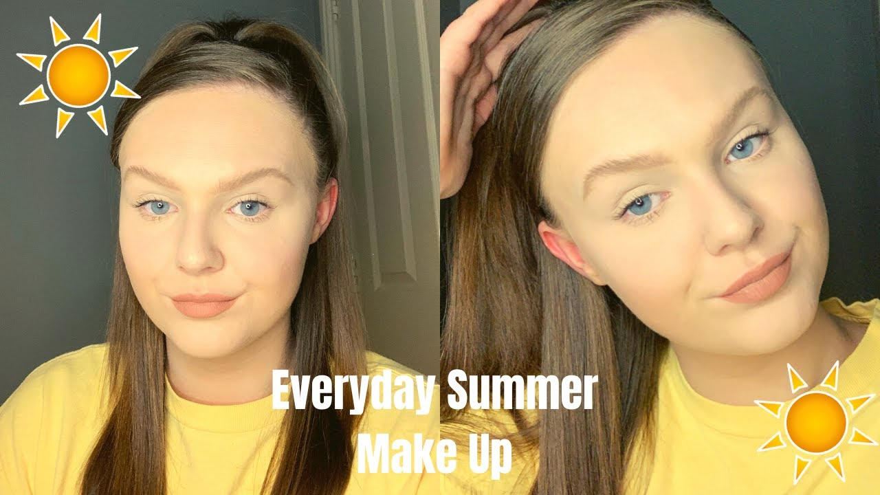 EVERYDAY SUMMER MAKE UP ROUTINE Ft The Ordinary, Revolution, Rimmel etc.