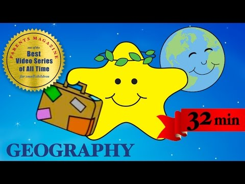 "ANIMALS & TRAVEL ★ Best Educational Learning Songs ★ Nursery Toddlers Kids ★ ""My World Adventure"""