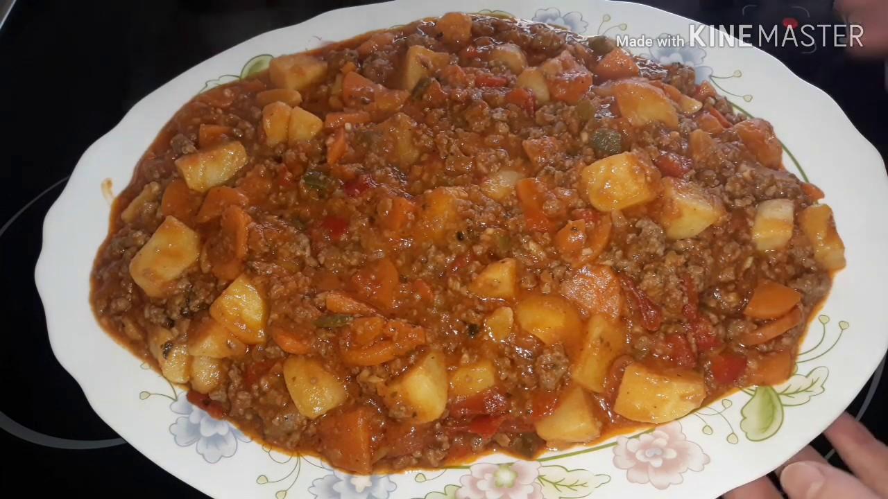 Receta Exprésguiso De Carne Picadauna Manera Diferente De Preparar Fácil Y Rápida
