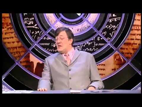 QI - Alan Davies has big balls.