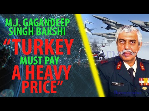 """Major General Bakshi: ''The Indian Navy must immediately come to the Aegean for military exercises"""""""