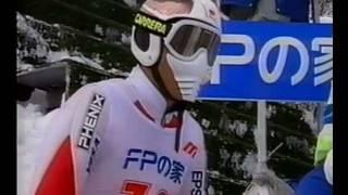 Repeat youtube video 岡部孝信vs原田雅彦 大倉山バッケンレコード合戦(1998 TVh CUP)