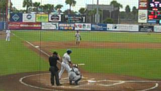 TJ Rivera 1st at bat