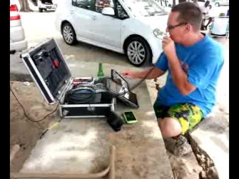 J6 Portable out at Vigie Beach