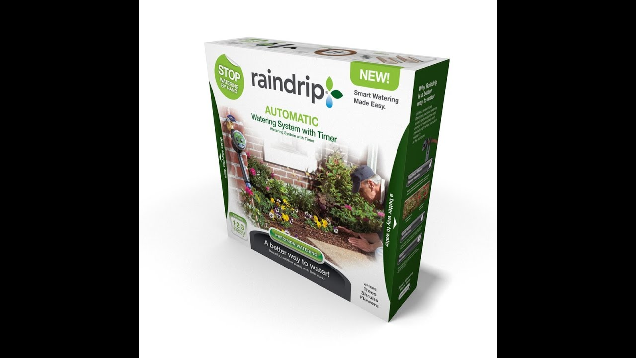 Raindrip Website on Behance