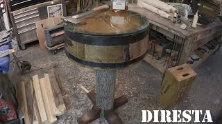 ✔ Diresta Barrel Table