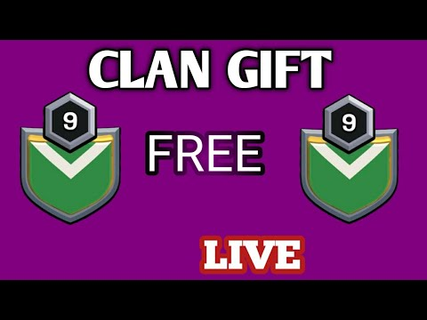 FREE CLAN GIFT IN CLASH OF CLANS🔥