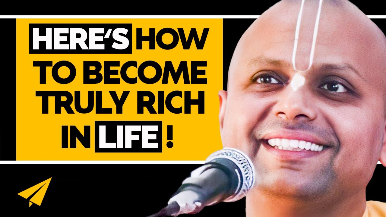 5 Pieces of Life-Changing ADVICE from Gaur Gopal Das | #MentorMeGaur