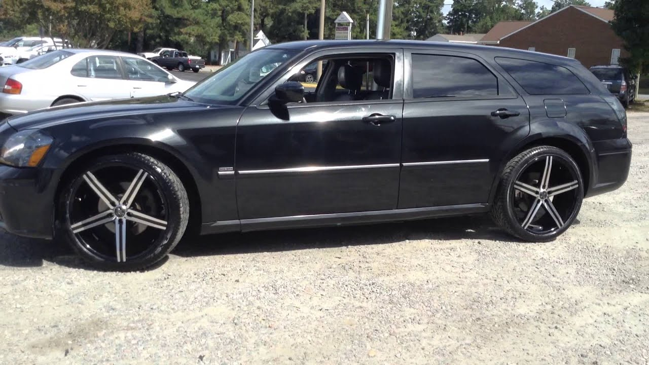 Rimtyme Colonial Heights Rolling This 2005 Dodge Magnum On 22