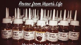обзор жидкости для электронных сигарет VaporDrops от S&S Labs. Настоящий oldschool
