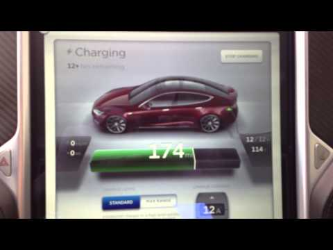Tesla Model S #238 First Solar Charge