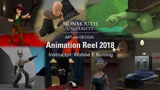 Monmouth University Art & Design Animation Reel 2018