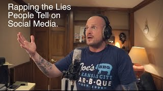 Rapping the Lies People Tell on Social Media