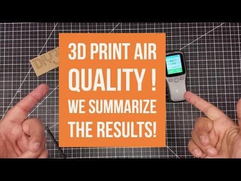 0 - Studie zeigt Gesundheitsrisiko beim 3D-Druck mit bestimmten Filamenten