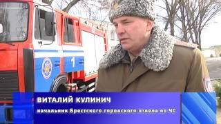 2017-03-03 г. Брест. Пожар на ул. Суворова в г. Бресте. Новости на Буг-ТВ.
