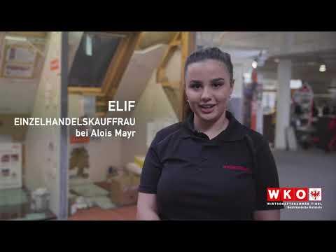 Firma Alois Mayr / Lehrberuf Einzelhandelskauffrau