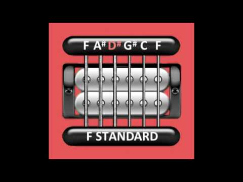 Perfect Guitar Tuner (F Standard)
