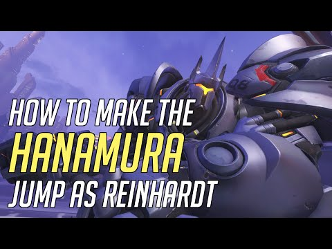 Make the Hanamura Jump As Reinhardt