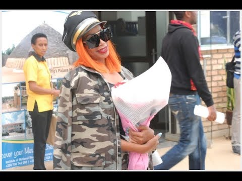 SINGER SHEEBAH ARRIVES IN KIGALI FOR EAST AFRICAN PARTY