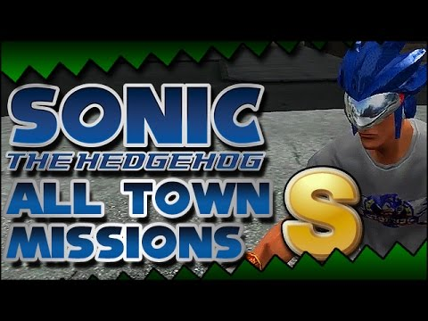 Sonic The Hedgehog (2006) - All Town Missions | S-Rank - Sonic